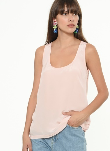 Ipekyol Kadın  Bluz IS1200070187 Pudra